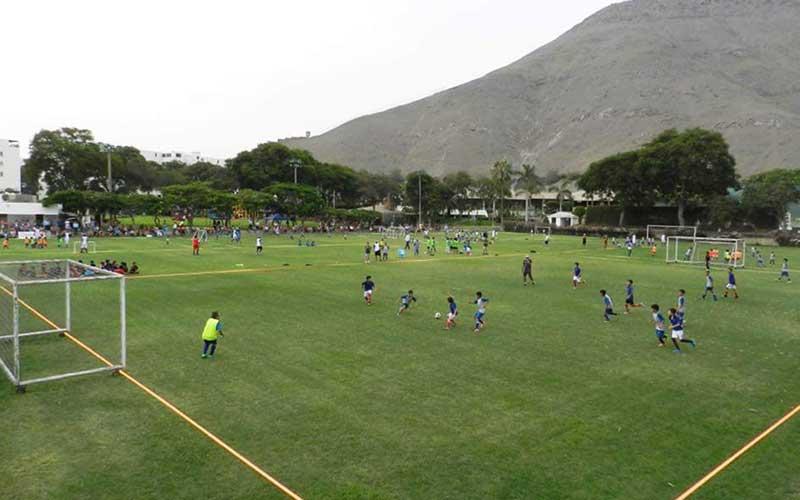 Clases de Futbol Base - Club Árabe Palestino Surco - 6